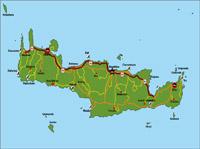 Kreta Karte Mit Sehenswürdigkeiten.Infos Für Einen Urlaub Auf Kreta Geografie Lage Wirtschaft