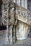 When Vienna was declared to a diocese in the year 1469, this pulpit made of stone replaced the previous one made of wood